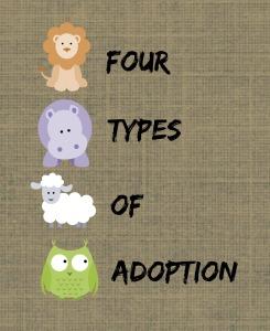 Four Types of Adoption
