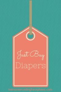 Just Buy Diapers
