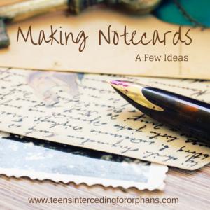 Making Notecards (2)
